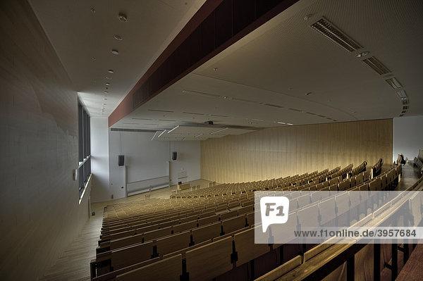 Leerer Hörsaal in der Goethe-Universität Frankfurt am Main  Deutschland