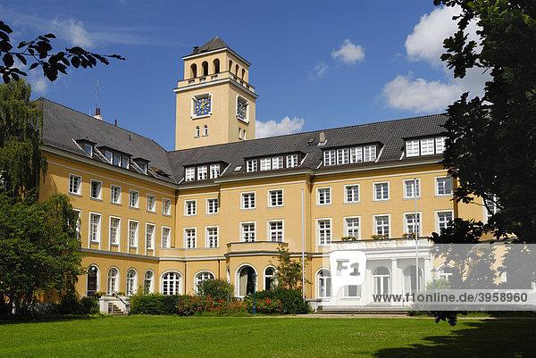 Das Rathaus in Bergedorf  Hamburg  Deutschland  Europa