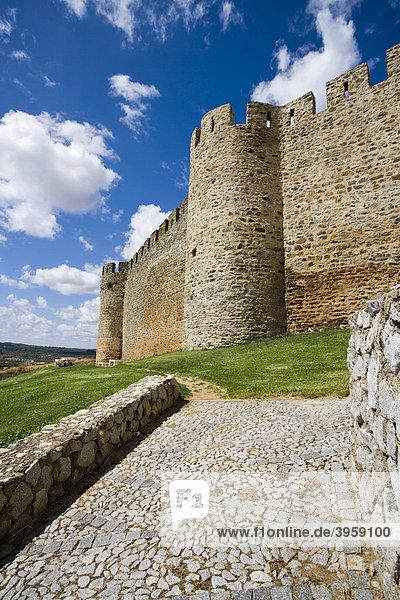 Portel Burg  Alentejo  Portugal  Europa