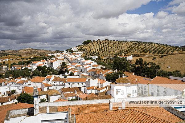 Portel village  Alentejo  Portugal  Europe