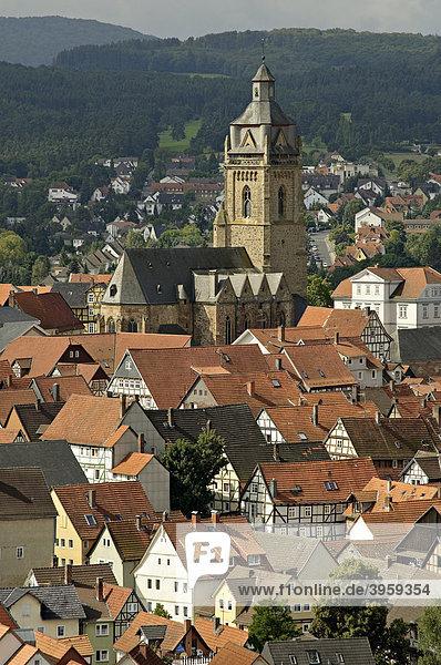 Bad Wildungen  Hessen  Deutschland  Europa