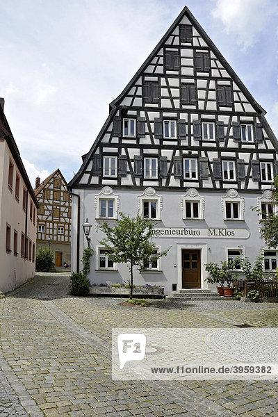 Ehemaliges Hopfenhaus in Spalt  Franken  Bayern  Deutschland  Europa