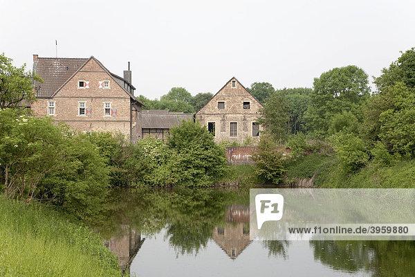 Wasserburg Kakesbeck  Münsterland  Nordrhein-Westfalen  Deutschland  Europa
