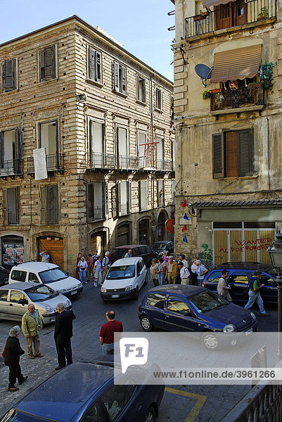 Altstadt  Cosenza  Kalabrien  Italien  Europa