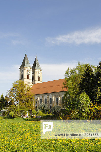 Abtei Niederaltaich  Niederalteich  Niederbayern  Bayern  Deutschland  Europa