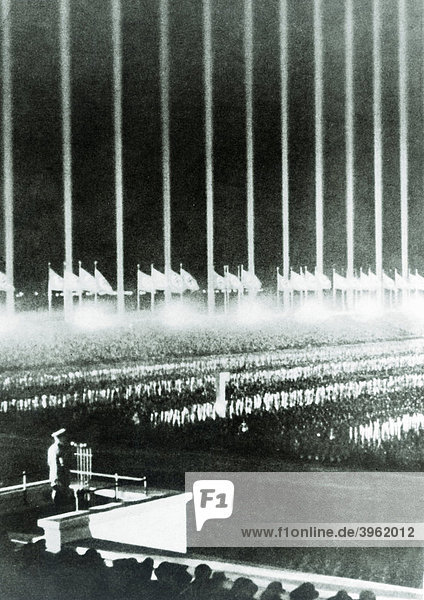 Reichsparteitag in Nürnberg  Bayern  Deutschland  Europa  historische Aufnahme  ca. 1936 Reichsparteitag in Nürnberg, Bayern, Deutschland, Europa, historische Aufnahme, ca. 1936