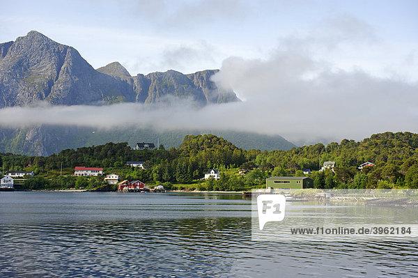 Holandfjord  Norwegen  Skandinavien  Europa