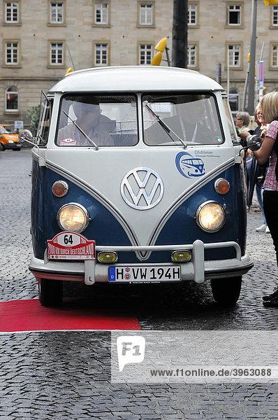VW T1 Sambabus  Baujahr 1965  2000 km durch Deutschland 2009  Schwäbisch Gmünd  Baden-Württemberg  Deutschland  Europa VW T1 Sambabus, Baujahr 1965, 2000 km durch Deutschland 2009, Schwäbisch Gmünd, Baden-Württemberg, Deutschland, Europa