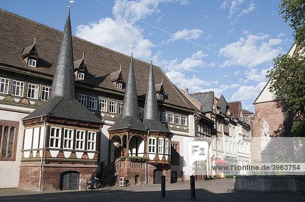 Altes Rahaus  Marktplatz  Einbeck  Niedersachsen  Deutschland