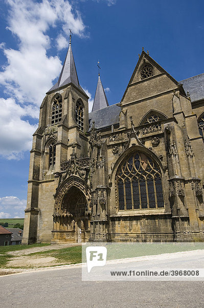 Basilique  Avioth  Lorraine  France  Europe