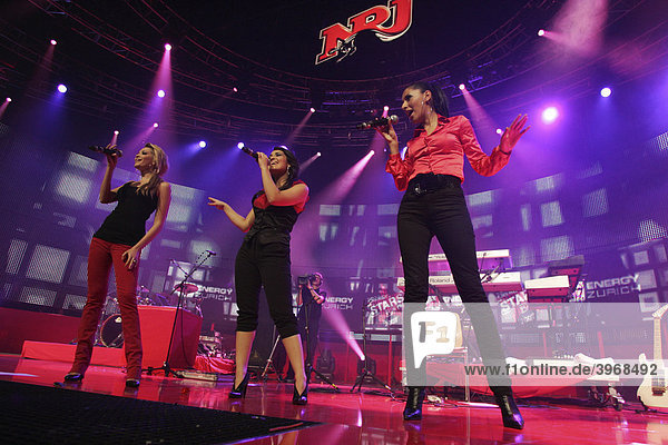 German girlgroup Monrose performing live at Energy Stars For Free at Hallenstadion Zurich,  Switzerland