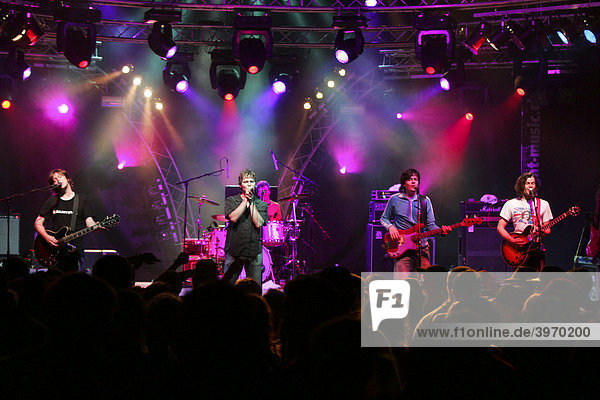 German pop group Fool's Garden performing live at Openquer in Zell  Lucerne  Switzerland