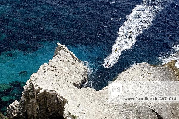Kreidefelsen  Bonifacio  Korsika  Frankreich  Europa