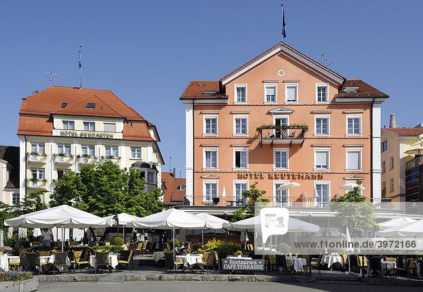 Bayern Deutschland Europa Iblhli01179837 Strandpromenade Lindau