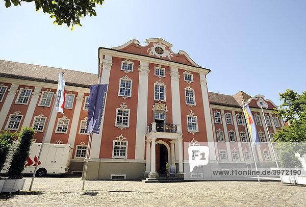 Städtische Galerie Neues Schloß in Meersburg am Bodensee  Baden-Württemberg  Deutschland  Europa