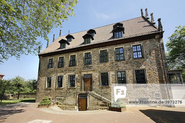 Stadtbücherei in Stadthagen  Niedersachsen  Deutschland  Europa