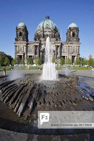 Berliner Dom in Berlin  Deutschland  Europa
