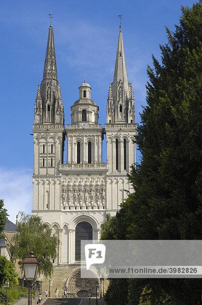 Kathedrale von Angers  Maine-et-Loire  Frankreich  Europa