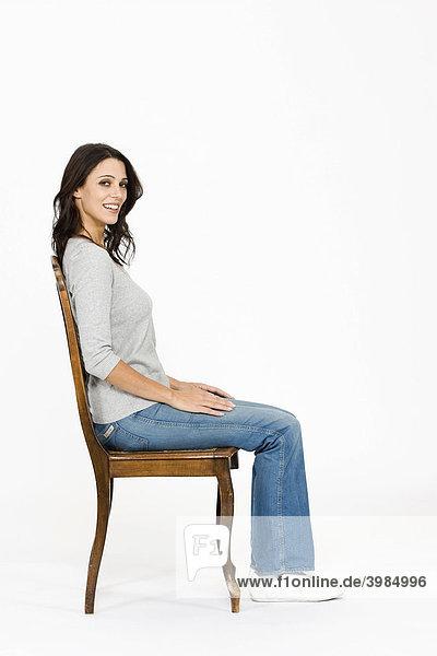 Frau Sitzt Auf Gesicht