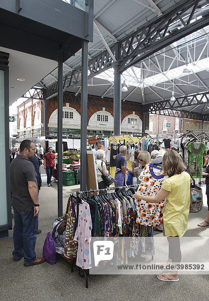 Spitalfield Market  London  Großbritannien