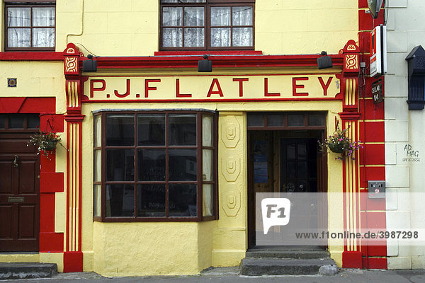 Kinvara P J Flatley  Irish Pub  County Clare  Irland