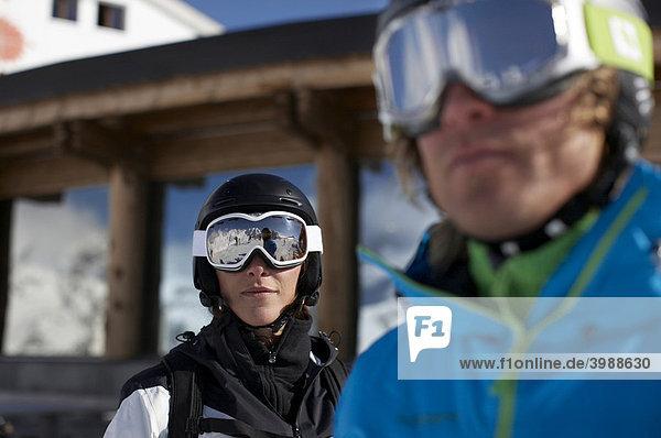 Snowboarder  skier  St. Moritz  Grisons  Switzerland  Europe