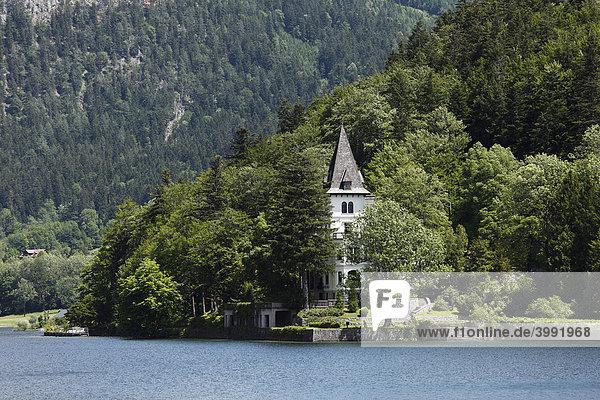 Villa Castiglioni  Grundlsee  Ausseer Land  Salzkammergut  Steiermark  Österreich  Europa