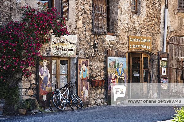 Aigunes  Provence-Alpes-CÙte díAzur  DÈpartement Alpes-de-Haute-Provence  Frankreich  Europa