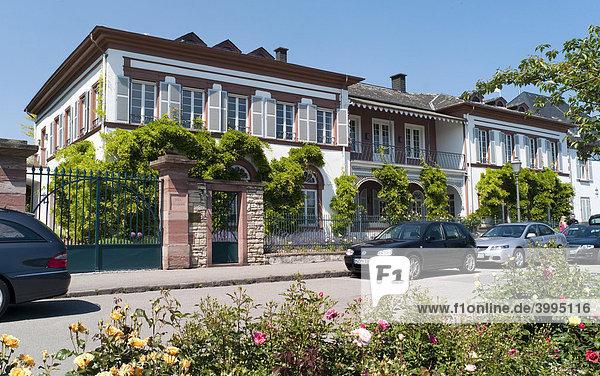 Villa G.H. von Mumm  Rotkäppchen-Mumm Sektkellereien  Eltville  Hessen  Deutschland  Europa