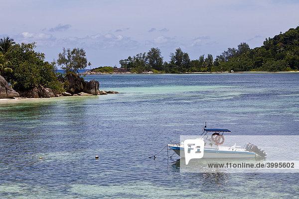 Strand von Anse L'Islette  Insel Mahe  Seychellen  Indischer Ozean  Afrika