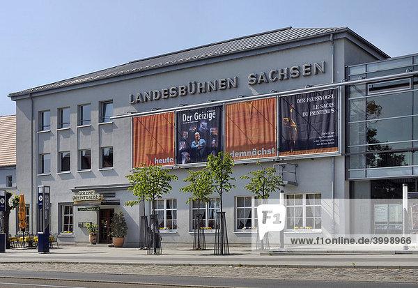 Landesbühnen Sachsen  Radebeul  Sachsen  Deutschland  Europa