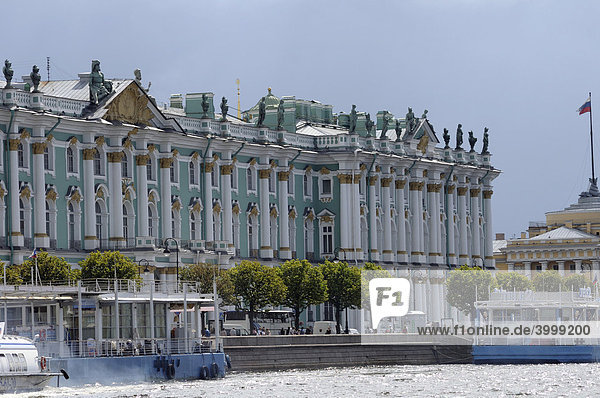 Winterpalast  Sankt Petersburg  Russland  Europa