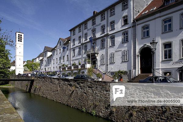 Barocke Altstadt  Bad Karlshafen  Hessen  Deutschland  Europa