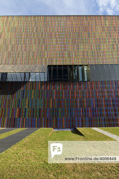 Museum Brandhorst im Münchner Museumsareal  München  Bayern  Deutschland