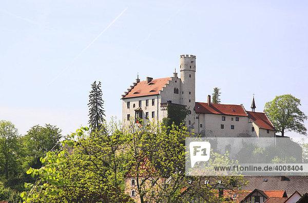 Burg Gößweinstein  Landkreis Forchheim  Oberfranken  Bayern  Deutschland  Europa