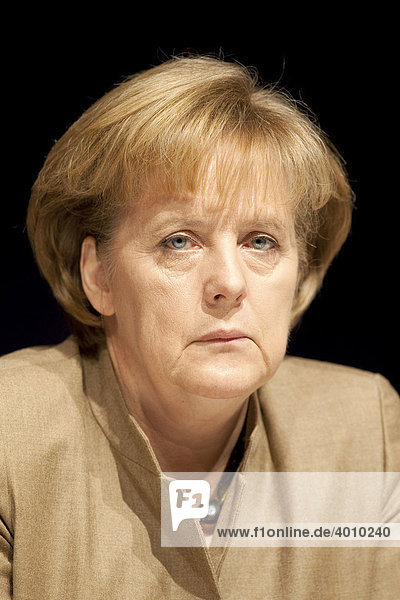 Angela Merkel  CDU  Bundeskanzlerin und CDU Vorsitzende
