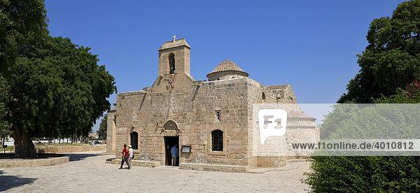 Kirche Panagia Angeloktistos  von den Engeln erbaut  UNESCO Weltkulturerbe  Kiti  Zypern  griechischer Teil  Südeuropa  Europa