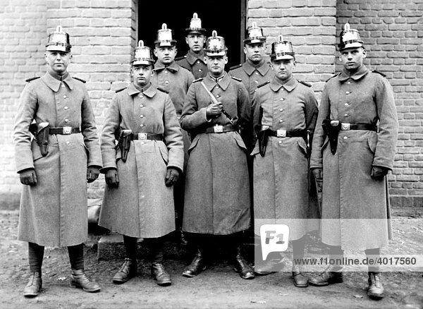 Polizeischule Brandenburg  historische Aufnahme  ca. 1930