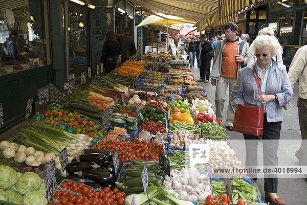 Naschmarkt  Wien  Österreich  Europa