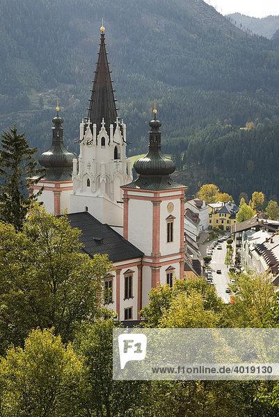 Wallfahrtskirche und Basilika  Mariazell  Steiermark  Österreich  Europa