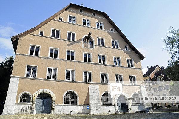 Altes Zeughaus  Museum  Solothurn  Schweiz  Europa