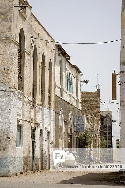 Historische Altstadt  Massawa  Massaua  Rotes Meer  Eritrea  Horn von Afrika  Ostafrika
