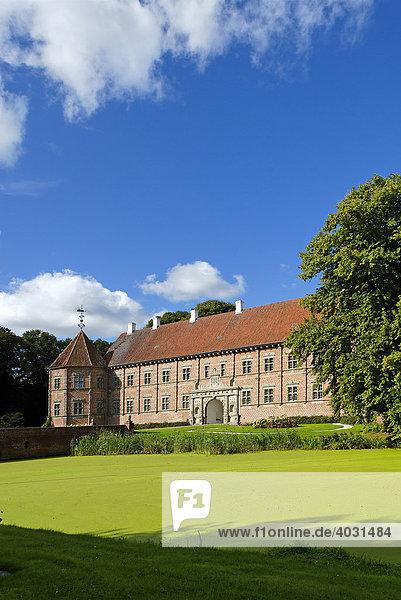 Schloss Voergard bei Flauenskjold  Jütland  Dänemark  Europa