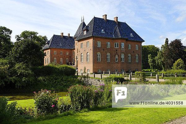 Schloss Holstenshus  Fünen  Dänemark  Europa