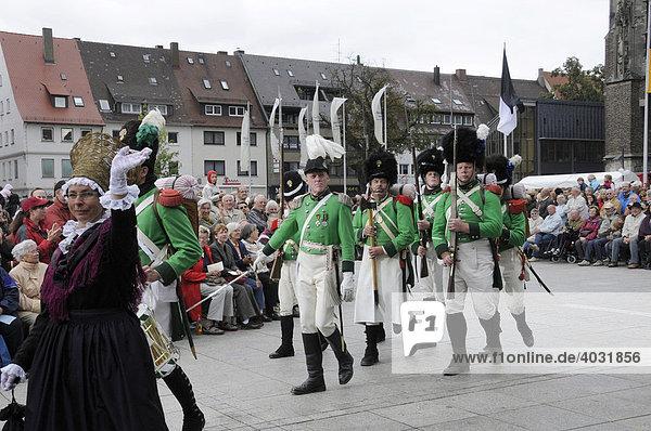 Trachtengruppe vom Bodensee Heimat und Trachtenverband e.V.  Heimattage Ulm 2008  Ulm  Baden-Württemberg  Deutschland  Europa