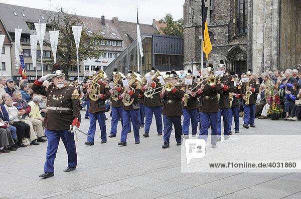 Historische Bürgerwache Ehingen e. V.  Heimattage Ulm 2008  Ulm  Baden-Württemberg  Deutschland  Europa