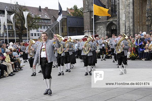Musikverein Schmiechen  Heimattage Ulm 2008  Ulm  Baden-Württemberg  Deutschland  Europa