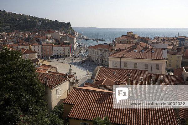 Piran  Adriatic  Istria  Slovenia  Europe