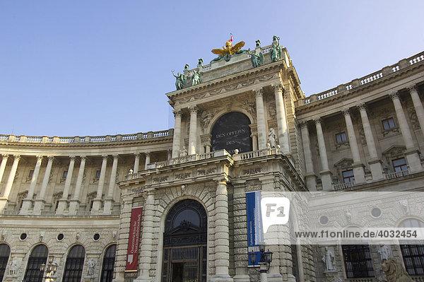 Hofburg-Komplex  Wien  Österreich  Europa