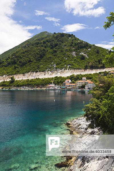 Hafen von Sobra  Insel Mljet  Dubrovnik-Neretva  Dalmatien  Kroatien  Europa